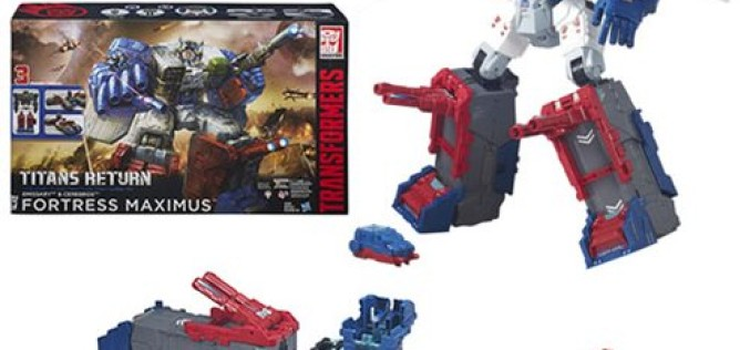 Hasbro Transformers Titans Return Titan Class Fortress Maximus Giveaway Ends Midnight