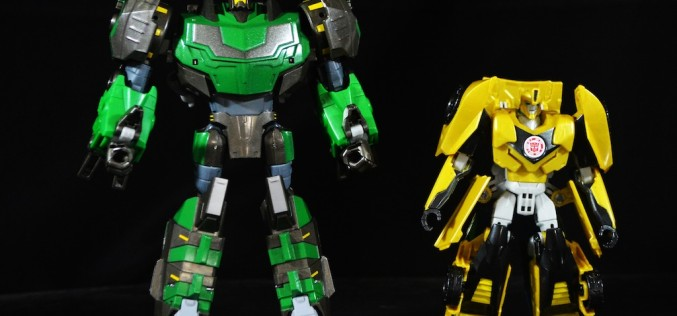 Hasbro Transformers Platinum RID Grimlock & Bumblebee 2 Pack – EE Exclusive Review