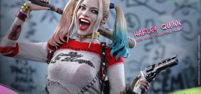 Hot Toys Suicide Squad The Joker, Harley Quinn & Deadshot Sixth Scale Figures