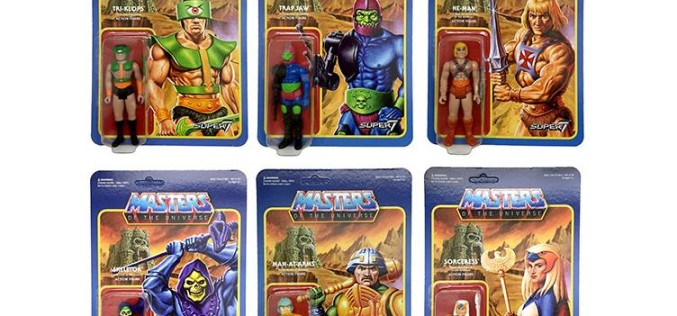 Super 7 Masters Of The Universe 3.75″ Retro Figures Wave 2 Pre-Orders