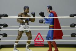 NECA Toys Muhammad Ali v Superman Comic Style 2 Pack