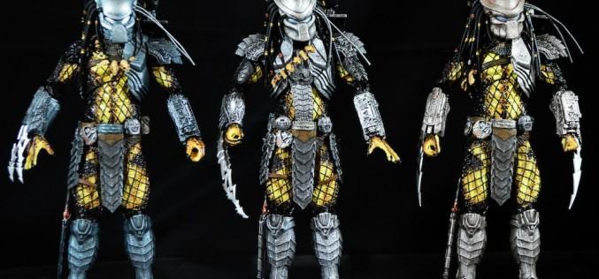 NECA Toys Predator Series 15 – Ancient Warrior, Scar, & Temple Guard Review
