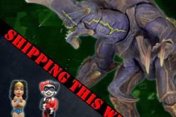 NECA Toys Shipping Update: Pacific Rim Hardship, Wonder Woman & Harley Quinn