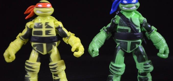 Playmates Toys Teenage Mutant Ninja Turtles Shadow Ninja Color Change Leo & Mikey Review