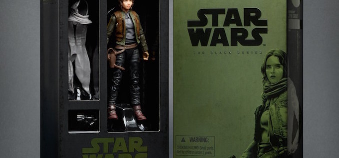 Hasbro SDCC2016 Exclusive Star Wars The Black Series 6″ Rogue One Jyn Erso Figure
