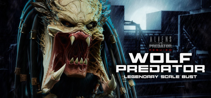 Sideshow Wolf Predator Bust Preview