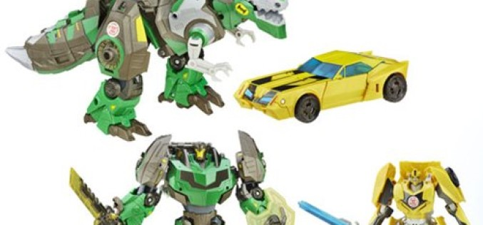 Hasbro Transformers Platinum RID Grimlock & Bumblebee 2 Pack – Entertainment Earth Exclusive