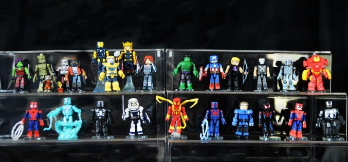 Walgreens Exclusive Marvel Animated Minimates Series 1-2 Group Shot & Review