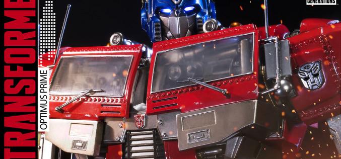 Prime 1 Studio Transformers Generation 1 Optimus Prime Statue Pre-Orders
