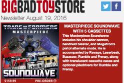 BigBadToyStore Update: Transformers, Star Wars, DC, Ghostbusters, Game Of Thrones, Aliens, Marilyn Monroe & More