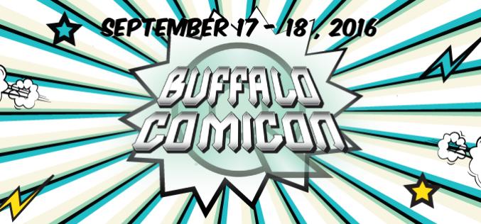 Buffalo Comicon 2016 Takes Place September 17th – 18th, 2016