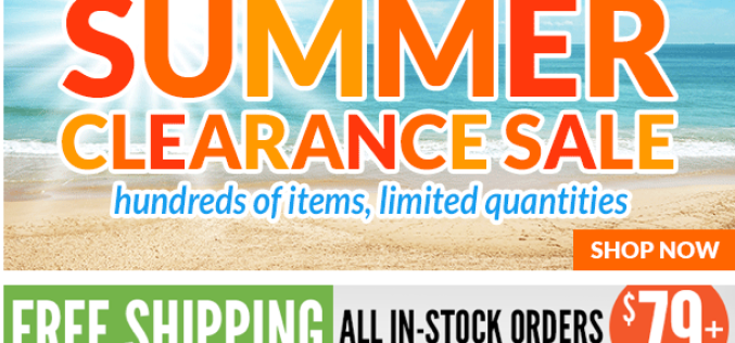 Entertainment Earth Major Markdown Summer Clearance Sale – Up To 90% Off