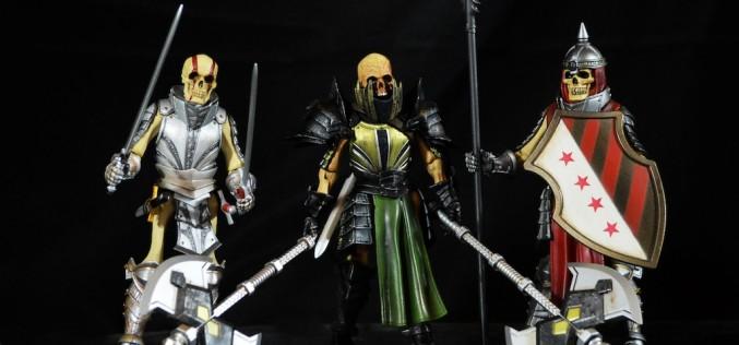 Four Horsemen Studios: Mythic Legions Malleus, Tibius, & Skapular The Cryptbreaker Review