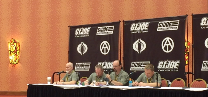 G.I. JoeCon 2016 – G.I. Joe Club Panel Roundtable Video Coverage