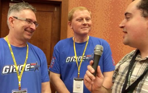 G.I. JoeCon 2016 – Video Interview With Hasbro's G.I. Joe Brand Team Derryl Depriest & Mark Weber