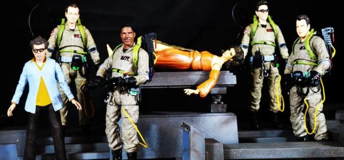 Ghostbusters Select Series 2 – Peter Venkman, Egon Spengler, & Dana Barrett Review