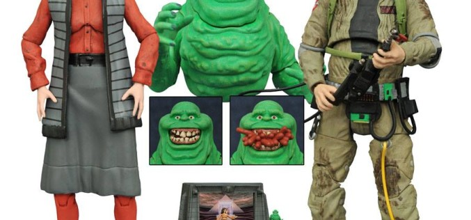 Ghostbusters Select Series 3 In Package Images & Shipping September 2016