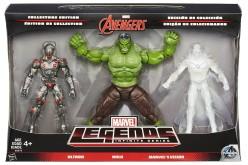 Hasbro Marvel Legends 6″ Ultron, Hulk, & Vision 3 Pack In Stock On Amazon.ca