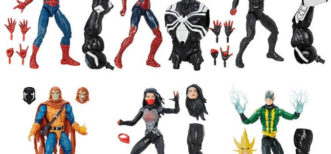 Hasbro Spider-Man 6″ Marvel Legends Space Venom Wave In Stock On Amazon