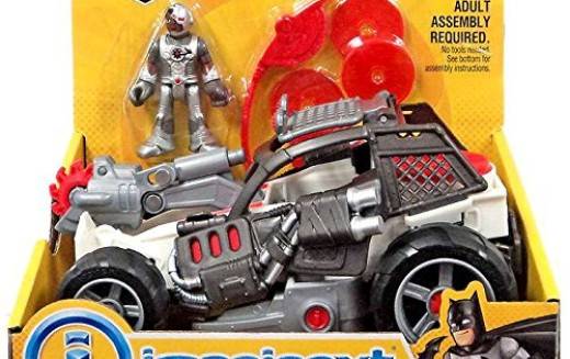 Fisher-Price Imaginext DC Superheroes Cyborg Saw Buggy, Two-Face SUV, & More New Sets