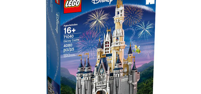 LEGO Shop Exclusive The Disney Castle Now Available To Pre-Order