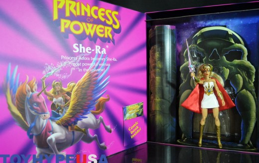 Mattel SDCC 2016 Exclusive Masters Of The Universe She-Ra 11″ Figure Review