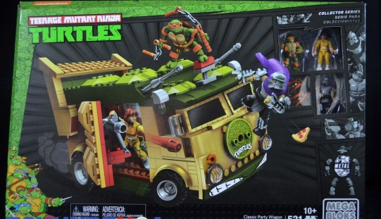 Mega Bloks Teenage Mutant Ninja Turtles Classic Collection Party Wagon Review