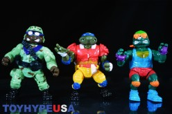 Playmates Toys TMNT Classic Collection Skateboardin' Mikey, Touchdown Tossin' Leo, & Delta Donnie Review