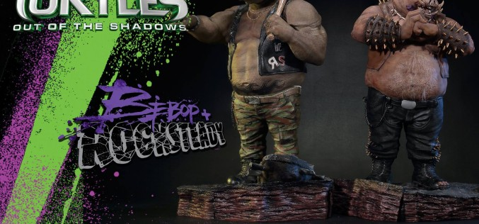 Prime 1 Studio TMNT: Out Of The Shadows Bebop & Rocksteady Statues