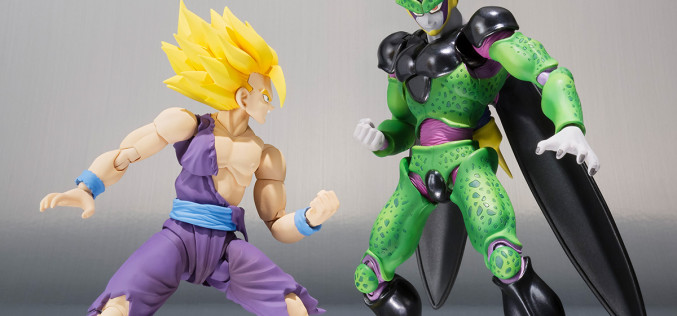 S.H. Figuarts Dragonball Z Battle Damaged Gohan & Cell Premium Color Version Pre-Orders