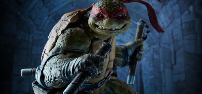 Sideshow Teenage Mutant Ninja Turtles Michelangelo Statue Pre-Orders