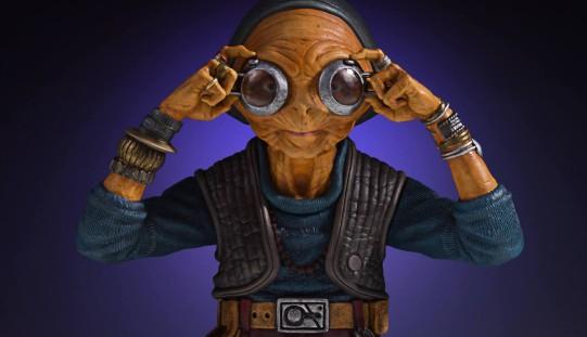 Gentle Giant – Star Wars Maz Kanata Mini Bust