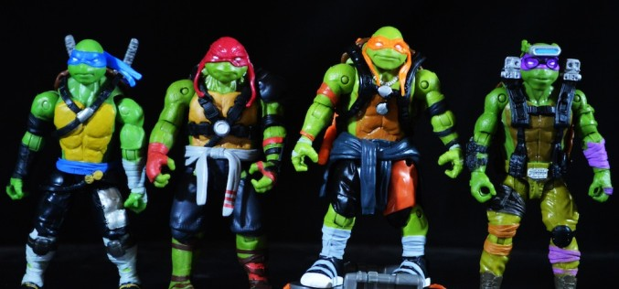 TMNT: Out Of The Shadows Movie Turtles Figures Review