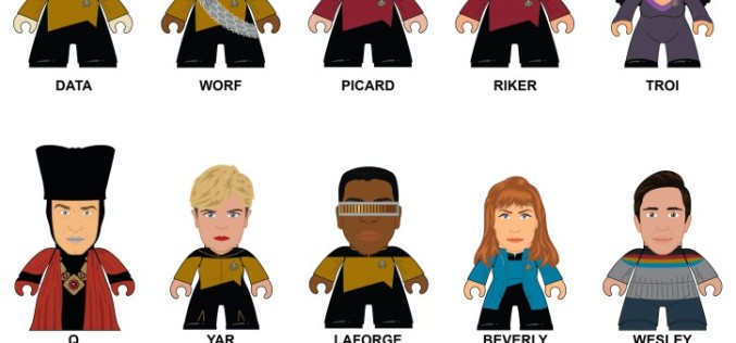 "Star Trek: The Next Genertaion – ""The Make It So!"" Collection From Titan Merchandise"