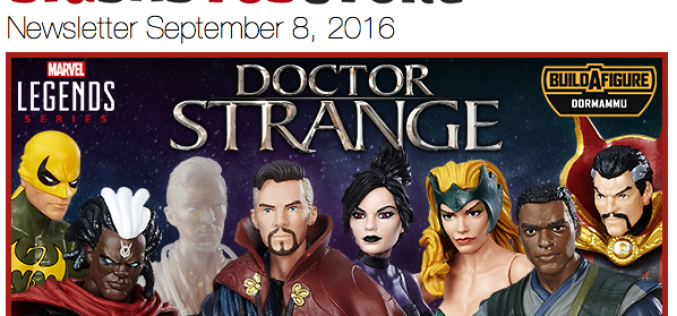 BigBadToyStore Update: Doctor Strange, Transformers Masterpiece, Bandai JP, Rogue One, Terminator, TWD & More
