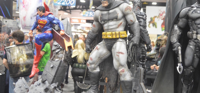 SDCC 2016: Sideshow Collectibles & Hot Toys Booth Coverage