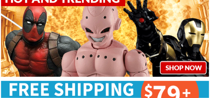 Entertainment Earth: Ghostbusters, DBZ, Voltron, The Joker & More
