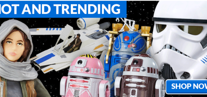 Entertainment Earth: Star Wars Rogue One, S.H. Figuarts TMNT, Batman & More