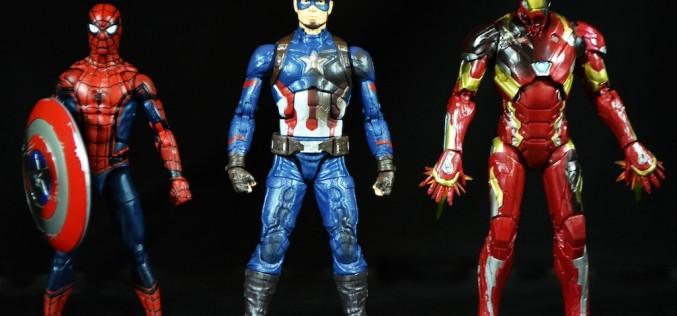 Hasbro Marvel Legends 6″ Captain America: Civil War 3 Pack Review