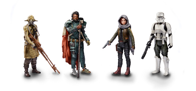 Hasbro Star Wars Rogue One 3.75″ Jedha Revolt 4 Pack In Stock On HasbroToyShop