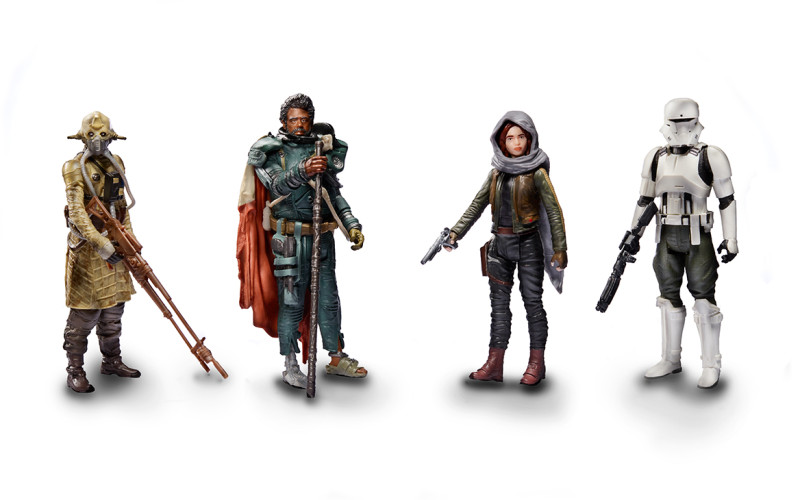 Hasbro Star Wars Rogue One 3.75″ Jedha Revolt 4 Pack Now $17.99 On Amazon