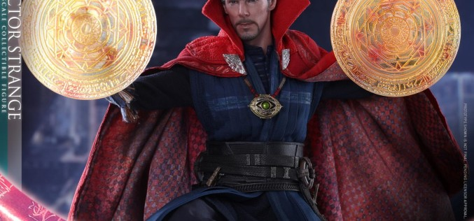 Hot Toys Dr. Strange Sixth Scale Figure Details & Images