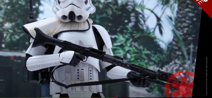 Hot Toys Exclusive Rogue One Stormtrooper Jedha Patrol Sixth Scale Figure Pre-Orders