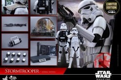 """Hot Toys Star Wars Rogue One Stormtrooper Jedha Patrol Toys """"R"""" Us Exclusive"""