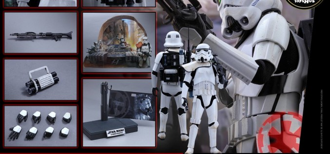 "Hot Toys Star Wars Rogue One Stormtrooper Jedha Patrol Toys ""R"" Us Exclusive"