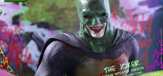 Hot Toys The Joker Batman Imposter Version Sixth Scale Figure Official Details & Images