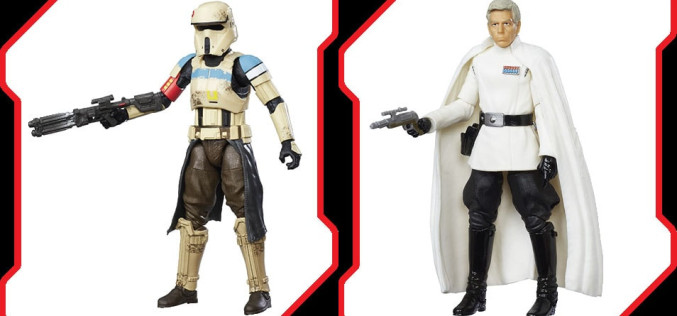 Hasbro Star Wars Rogue One Director Krennic & Shoretrooper TBS 6″ Figures Revealed