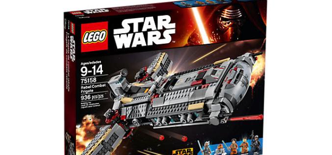 LEGO Star Wars Rebels – Rebel Combat Frigate Available On LEGO Shop