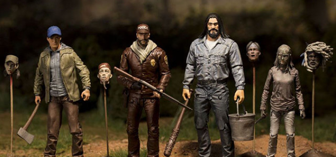 McFarlane Toys The Walking Dead Comic Series 5 Released & New Images