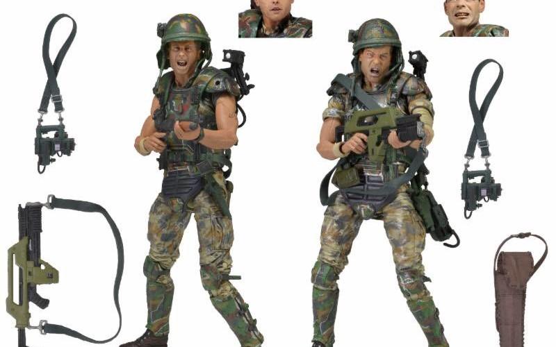 NECA Toys Aliens – Colonial Marines 2 Pack & 36″ Xenomorph Skull Foam Replica On Amazon & eBay